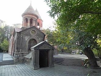 Ananias of Damascus - The chapel of Ananias at the Surp Zoravor Church, Yerevan, Armenia