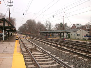 St. Davids station SEPTA Regional Rail station