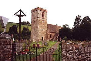 St. Michael and All Angels, Clyro, Wales - geograph.org.uk - 1725974.jpg