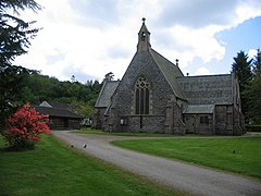 St Modan's Church in Rosneath