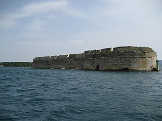 Venetian Works of Defence between the 16th and 17th centuries: Stato da Terra – western Stato da Mar - Image: St. Nicholas Fortress 0048