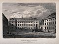 St Bartholomew's Hospital, London; the courtyard with eight Wellcome V0012992.jpg