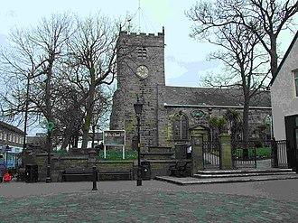 Poulton-le-Fylde - Image: St Chad's Parish Church, Poulton le Fylde geograph.org.uk 366323