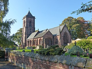 St Helens Church, Tarporley Church in Cheshire, England