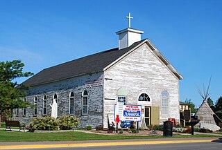 St. Ignace Mission mission site in Michigan, USA