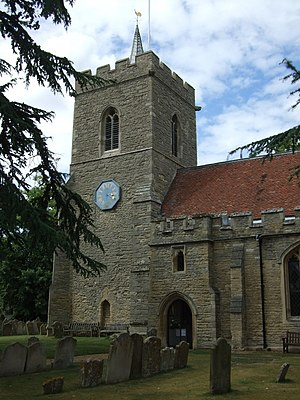 Grade I listed buildings in Bedfordshire - Image: St James church, Biddenham (geograph 3206650)