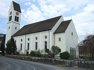 Schmerikon - Village church of St. Jodokus