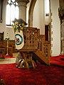 St Joseph's Catholic Church, Ansdell, Pulpit - geograph.org.uk - 1148103.jpg