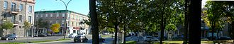 Saint Joseph Boulevard - The intersection of Saint Laurent Boulevard and Saint Joseph Boulevard.