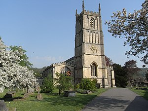 Wotton-under-Edge - Image: St Mary The Virgin Church Wootton under Edge