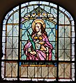 St Stefan an der Gail - Pfarrkirche - Fenster - Lucia.JPG