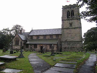 St Wilfrids Church, Mobberley Church in Cheshire, England