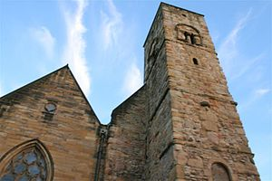 Monkwearmouth–Jarrow Abbey - Image: St peters tower