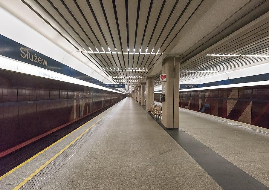 Służew metro station
