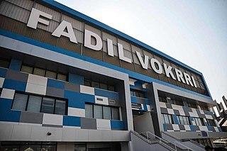 Soccer stadium in the capital of Kosovo, Pristina