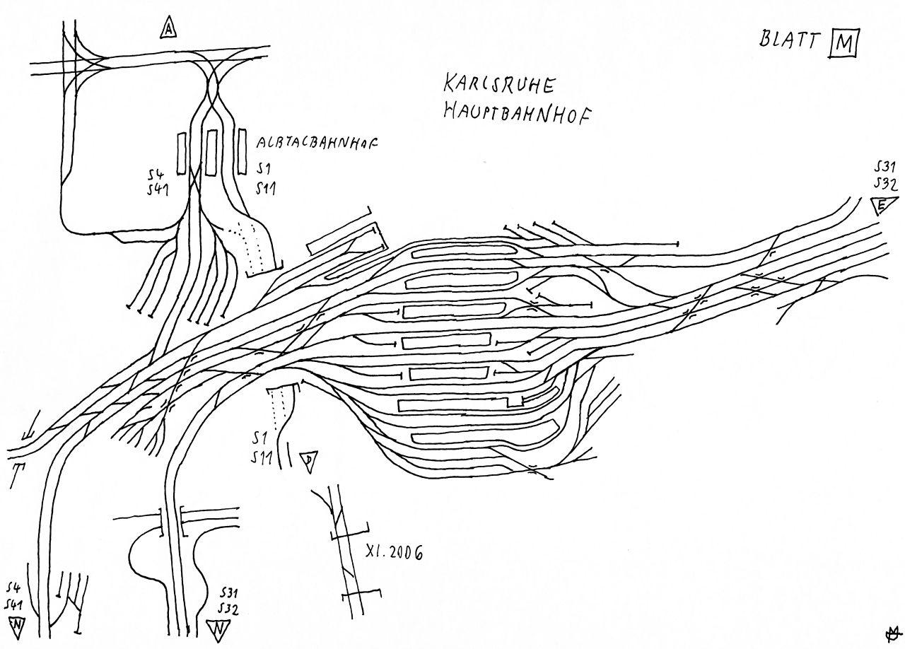file stadtbahn karlsruhe gleisplan blatt m jpg wikimedia commons. Black Bedroom Furniture Sets. Home Design Ideas