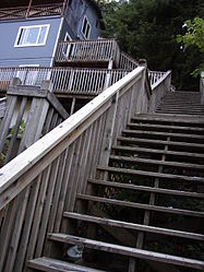 Stair walkway near Creek Street, Ketchikan 2.jpg