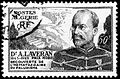 Stamp showing C.L.A. Laveran, issued by Algeria in 1954. Wellcome L0004369.jpg