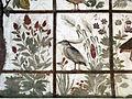 Stanza degli uccelli, volta, martin pescatore.JPG