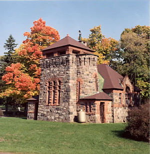 English: The back of Starkweather Chapel, an e...