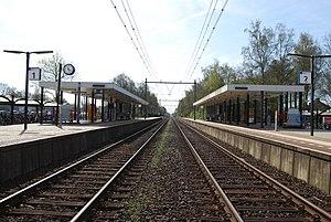 Heeze railway station - Image: Station Heeze