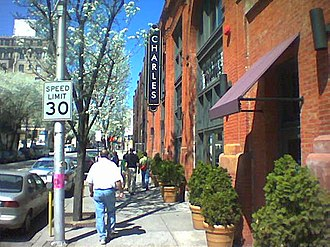 National Register of Historic Places listings in Central Baltimore - Image: Station North Arts District Baltimore Chas St