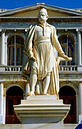 Statue of Andreas Miaoulis - Syros island, Greece - panoramio