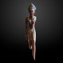 Statuette of a king-E 16277