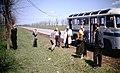 Stavropol Krai Countryside and Roadside with Bus.jpg