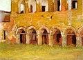 Stefan Luchian - Ruinele manastirii Comana.jpg