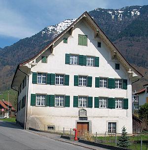Schänis - Steiner House in Schänis