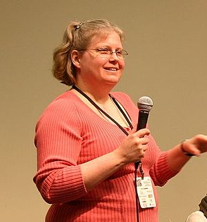 Stephanie Zvan - Zvan at Science Online in 2011