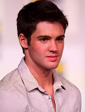 Steven R. McQueen - At the 2012 San Diego Comic-Con International.