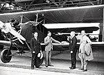 Stinson SB-1 Detroiter biplane in hangar.jpg