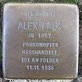Stolperstein Alex Falk in Beckum.nnw.jpg