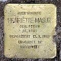 Stolperstein Aschaffenburger Str 22 (Wilmd) Henriette Masur.jpg