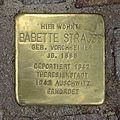 Stolperstein Bäckerweg 30 Babette Strauß.jpg