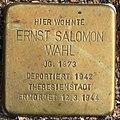 Stolperstein Ernst Salomon Wahl Wuppertal.jpg