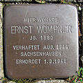 Stolperstein Ernst Wömpner Am Stockpiper 87 Ahlen.nnw.jpg