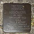 Stolperstein Gelsenkirchen Bismarkstraße 152 Heinrich Hirschhorn.JPG