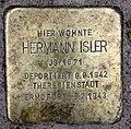 Stolperstein Helmstedter Str 27 (Wilmd) Hermann Isler.jpg