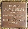 Stolperstein Horstmar Gossenstraße 1 Louis Steinweg.jpg
