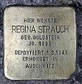 Stolperstein Klausenerplatz 2 (Charl) Regina Strauch.jpg
