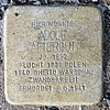 Stolperstein Martin-Luther-Str 2 (Schön) Adolf Aftergut.jpg