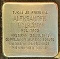 Stolperstein für Aleksander Balkanyi (Lendava).jpg