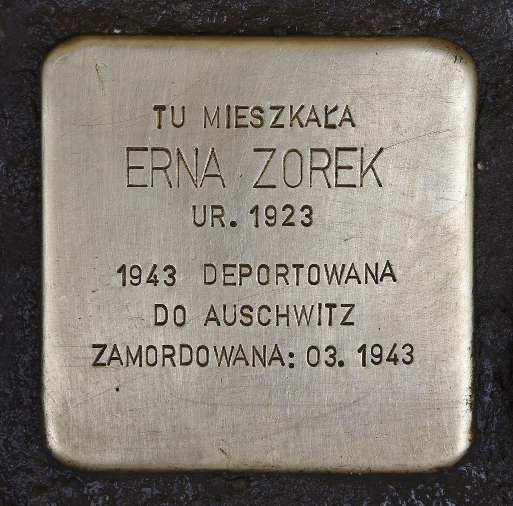Stolperstein für Erna Zorek.JPG