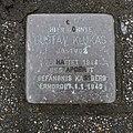 Stolperstein für Gustav Klukas, Clausstrasse 48, Chemnitz.JPG