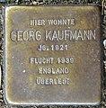 Stolpersteine Krefeld, Georg Kaufmann (Nordwall 75).jpg