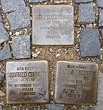 Stolpersteine Regensburg Niedermaier Gruenhut.jpg