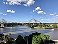 Story Bridge seen from Hobbs Park at level 4 of 480 Queen Street, Brisbane.jpg